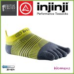 Injinji-Womens-Run-No-Show-Daffodil-Yellow-Grey01