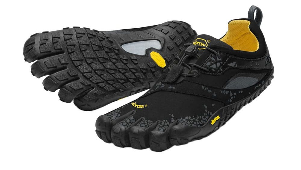 Vibram Fivefingers Womens SPYRIDON MR Off-Road Mud Running Shoes (Black/Grey)