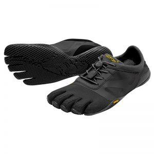 Vibram FiveFingers Womens KSO EVO Minimalist Running Shoes (Black)
