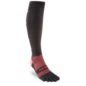 Injinji Ultra Compression OTC Toe Socks (Black)