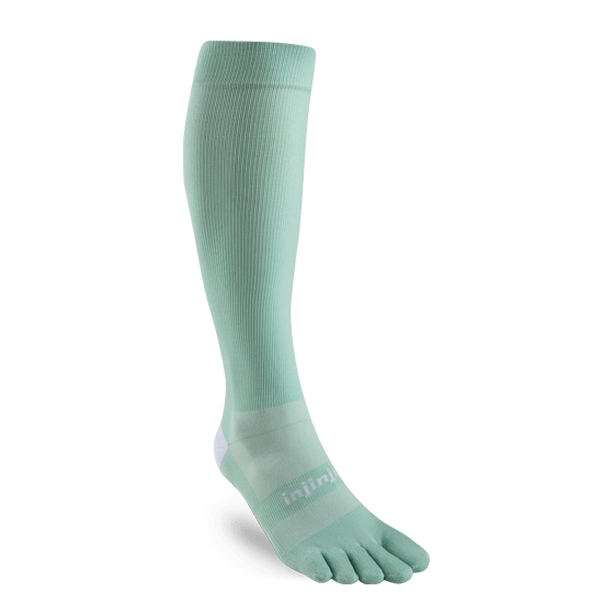 Injinji Womens Ultra Compression OTC Toe Socks (Jade)