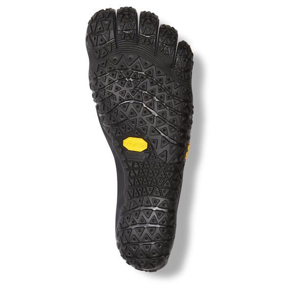 Vibram FiveFingers Womens V-ALPHA Running Shoes (Black) - Sole