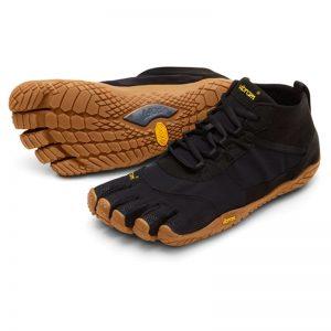 Vibram Fivefingers Womens V-TREK Running Shoes (Black/Gum)