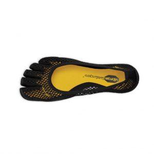 Vibram FiveFingers Womens VI-B Minimalist Shoes (Black) - Top