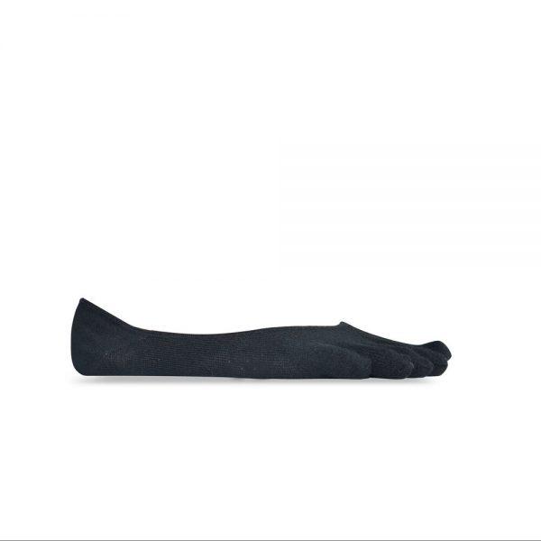 Vibram 5Toe Ghost Low Profile Toe Socks (Black)