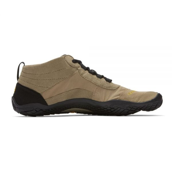Vibram FiveFingers Mens V-Trek Outdoor Minimalist Shoes (Khaki/Black) - Side