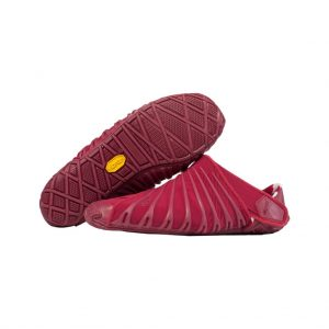Vibram Womens Furoshiki Wrapping Sole Shoes (Beet Red)