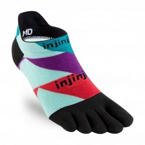 Injinji RUN Lightweight No-Show Running Toe Socks (Levels)