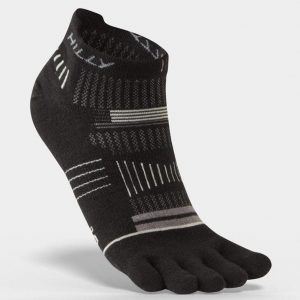 Hilly Toe Socks Socklets Black