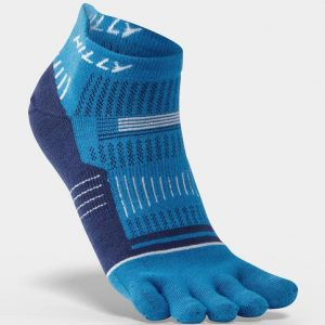 Hilly Toe Socks Socklets - Blue