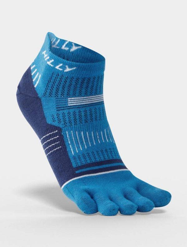 Hilly Toe Socks Socklets - Blue
