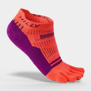 Hilly Womens Toe Socks Side