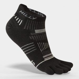 Hilly Toe Socks Socklets Black Side