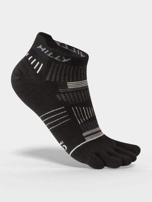 Hilly Toe Socks Socklets Black Side