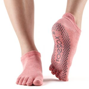 ToeSox Full Toe Low Rise - Melon