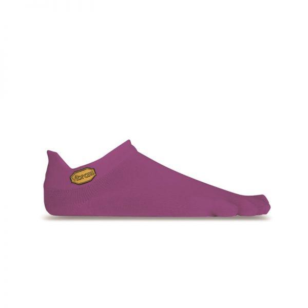 Vibram 5TOE Athletic No Show Toe Socks (Purple)