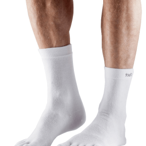 ToeSox Ultralight Crew In White
