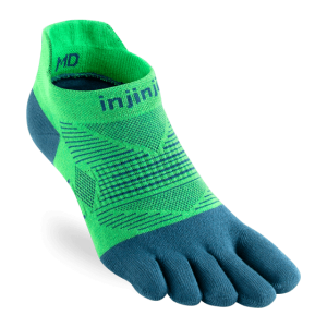 Injinji RUN Lightweight No-Show Running Toe Socks (Isla)