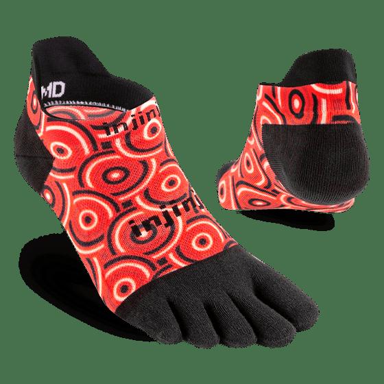 Injinji RUN Lightweight No-Show Running Toe Socks (Coil) - Dual