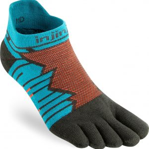 Injinji Ultra Run No-Show Running Toe Socks (Pop)
