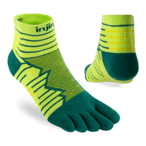 Injinji Ultra Run Mini-Crew Running Toe Socks (Deco) - Dual