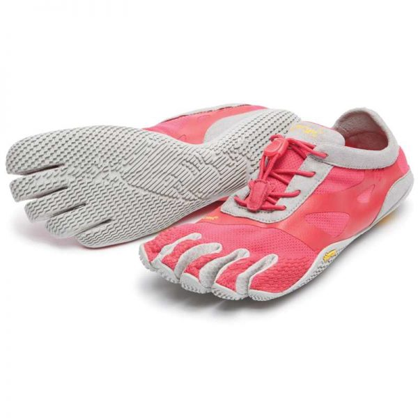 Vibram FiveFingers Womens KSO EVO Minimalist Running Shoes (Pink/Grey)