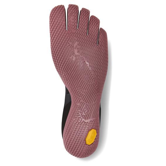 Vibram FiveFingers Womens KSO EVO Minimalist Running Shoes (Black/Rose) - Bottom
