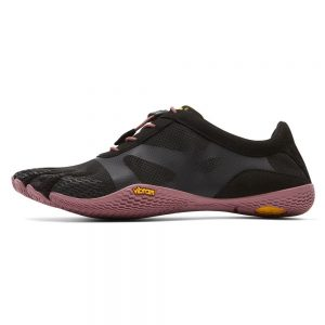 Vibram FiveFingers Womens KSO EVO Minimalist Running Shoes (Black/Rose)- Side