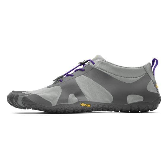 Vibram FiveFingers Womens V-ALPHA Running Shoes (Grey/Violet) - Side