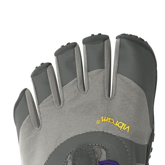 Vibram FiveFingers Womens V-ALPHA Running Shoes (Grey/Violet) - Toes