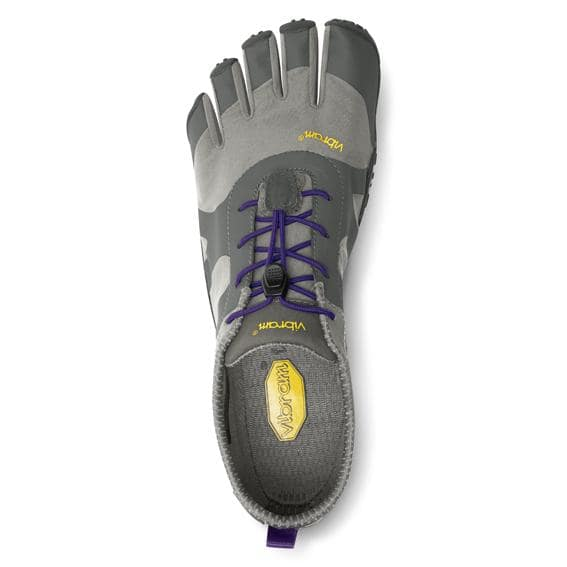 Vibram FiveFingers Womens V-ALPHA Running Shoes (Grey/Violet) - Top