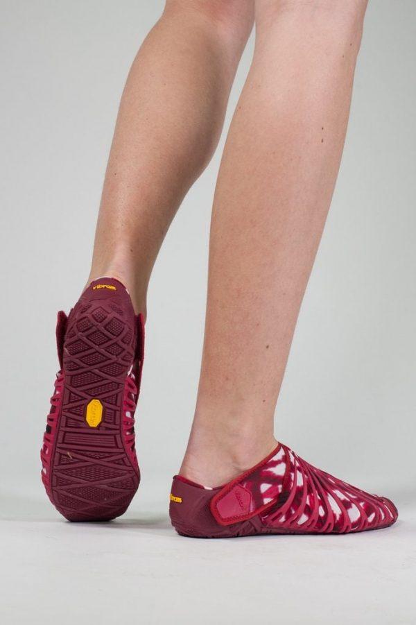 Vibram Womens Furoshiki Wrapping Sole Shoes (Shibori) - lifestyle