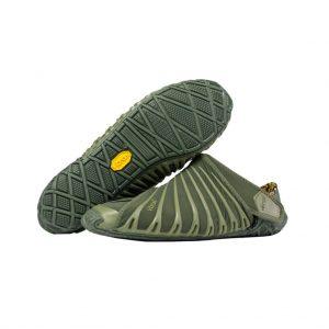 Vibram Womens Furoshiki Wrapping Sole Shoes (Olive)
