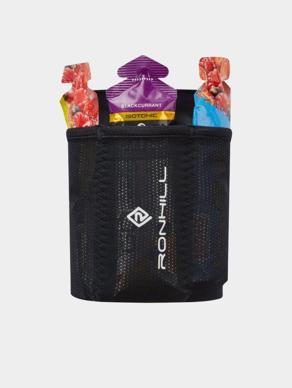 Ronhill Stretch Gel Carrier Arm Pocket - Black - Running Arm Pocket