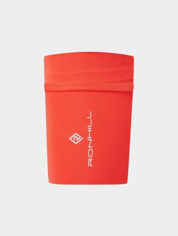 Ronhill Stretch Arm Pocket - Hot Coral - Running Arm Pocket