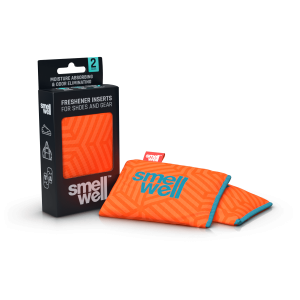 SmellWell Freshener Inserts - Odour & Moisture Absorber - Geometric Orange