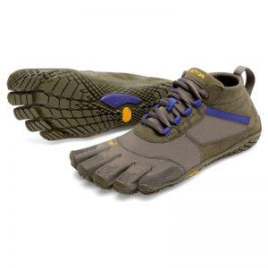 Vibram Fivefingers Womens V-TREK Running Shoes (Military Purple)