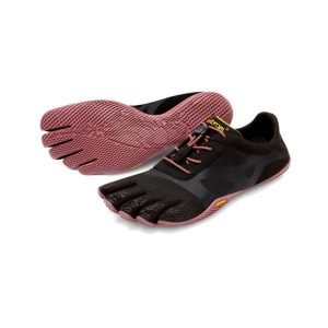 Vibram FiveFingers Womens KSO EVO Minimalist Running Shoes (Black/Rose)