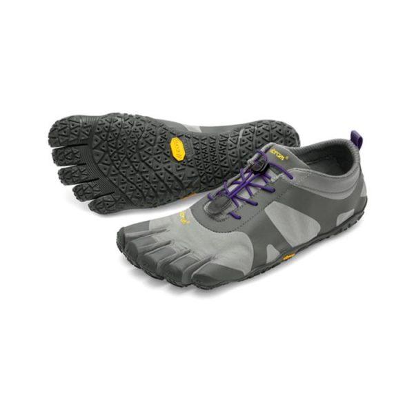 Vibram FiveFingers Womens V-ALPHA Running Shoes (Grey/Violet)