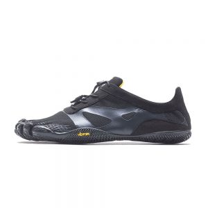 Vibram FiveFingers Mens KSO EVO Minimalist Running Shoes - Black - Side