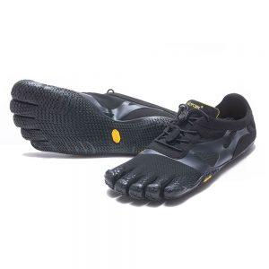 Vibram FiveFingers Mens KSO EVO Minimalist Running Shoes - Black