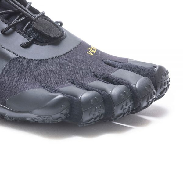 Vibram FiveFingers Mens V-ALPHA Minimalist Shoe - Black - Toes