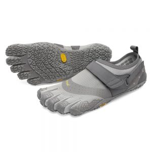 Vibram FiveFingers Mens V-AQUA Minimalist Water Shoe - Grey
