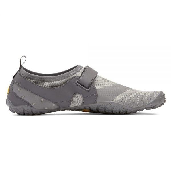 Vibram FiveFingers Mens V-AQUA Minimalist Water Shoe - Grey - Side