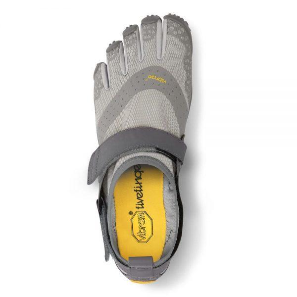 Vibram FiveFingers Mens V-AQUA Minimalist Water Shoe - Grey - Top