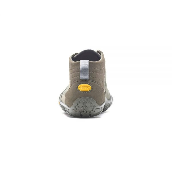 Vibram FiveFingers Mens V-TREK Minimalist Trail Shoe - Military/Dark Grey - Back