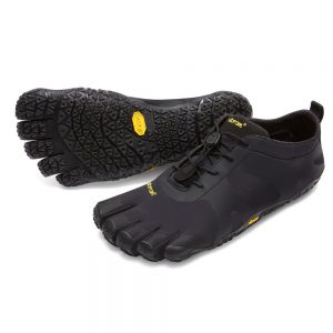 Vibram FiveFingers Mens V-ALPHA Minimalist Shoe - Black