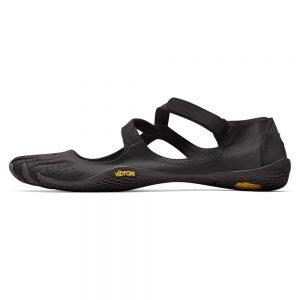 Vibram Fivefingers Womens V-SOUL Minimalist Indoor Training Shoes - Black - Side