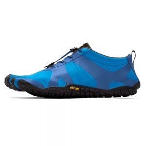 Vibram FiveFingers Mens V-ALPHA Minimalist Shoe - Blue/Black - Side