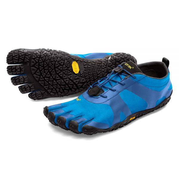 Vibram FiveFingers Mens V-ALPHA Minimalist Shoe - Blue/Black